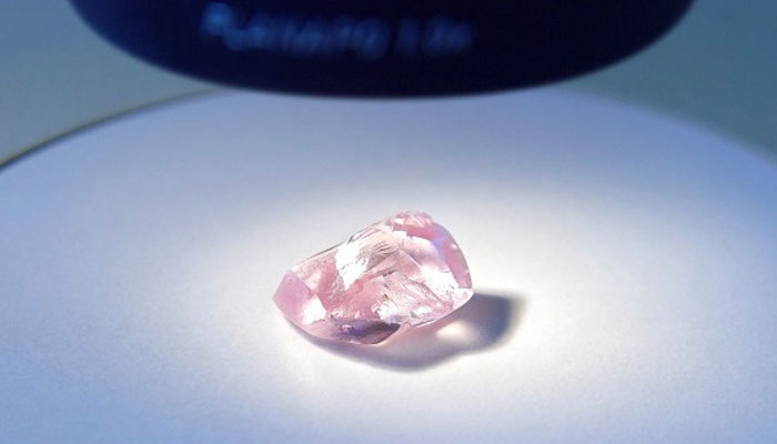 розовый алмаз АЛРОСА